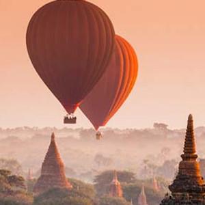 Sobrevolar Bagan en globo