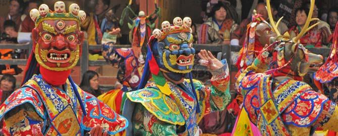 Viaje a Bután: Festival de Paro